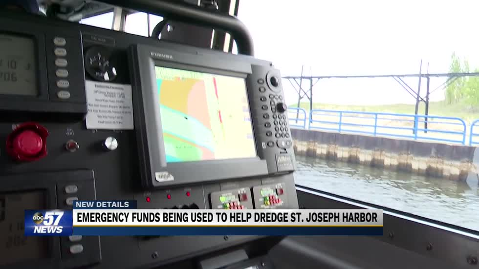 U-S Army Corps of Engineers gives funds to dredge St. Joseph...